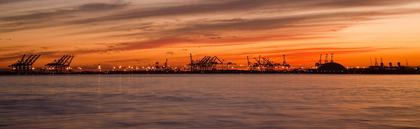 Industrial Sunset - Long Beach, CA